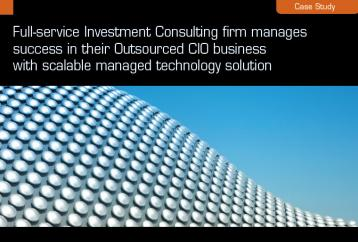 Case Study - Investment Consulting firm manages success in their OCIO business